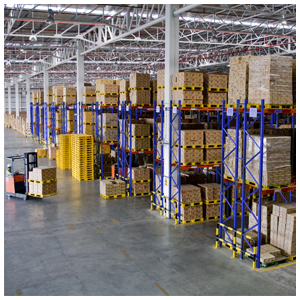 50,000 pallet positions available across three sites in Stoke-on-Trent...